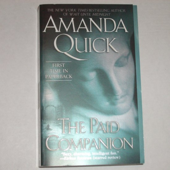 The Paid Companion by AMANDA QUICK Historical Regency Romance 2005