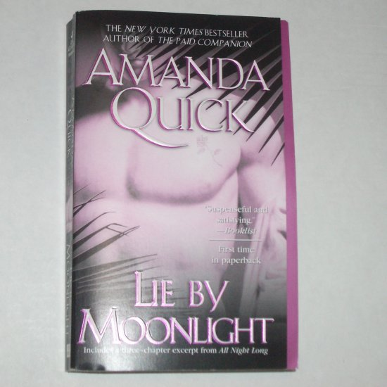 Lie by Moonlight by AMANDA QUICK Historical Romance 2005 Vanza Series