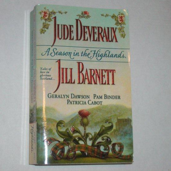 A Season in the Highlands by Jude Deveraux, Jill Barnett, Geralyn Dawson 2000