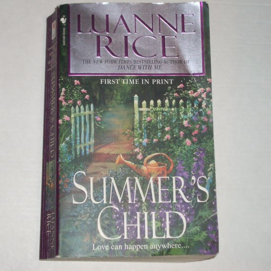 Summer's Child by LUANNE RICE Mystery and Romance 2005