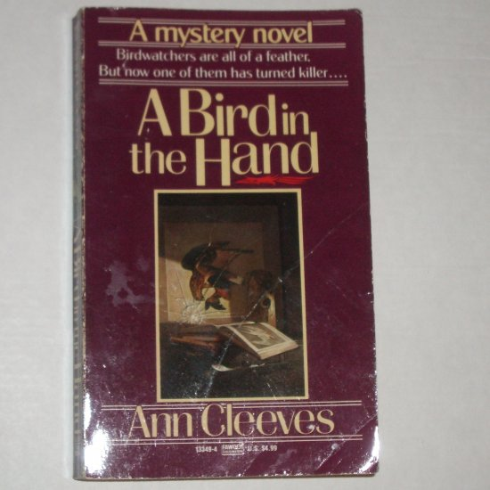 A Bird in the Hand by ANN CLEEVES Cozy Mystery 1990