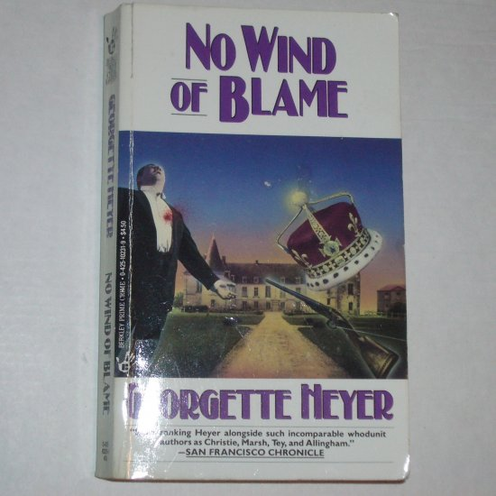 No Wind of Blame by GEORGETTE HEYER Prime Crime Mystery 1994