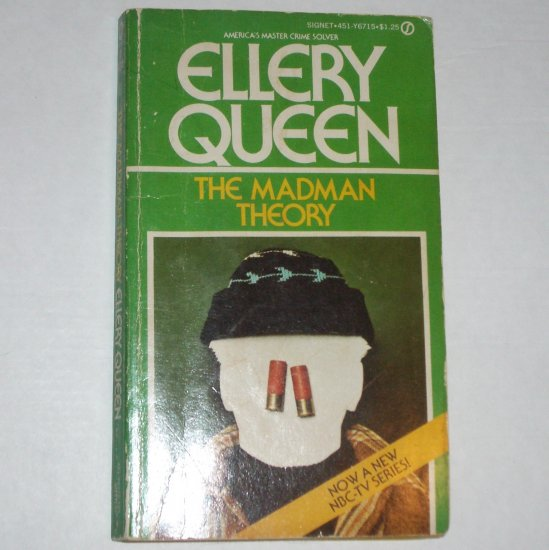 The Madman Theory by ELLERY QUEEN Murder Mystery 1975