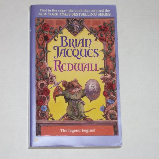 Redwall by BRIAN JACQUES Paperback 1998