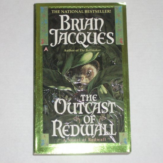 The Outcast of Redwall by BRIAN JACQUES Paperback 1997