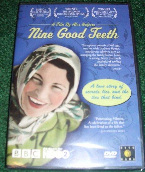 Nine Good Teeth by ALEX HALPERN Award Winning DVD New & Unopened