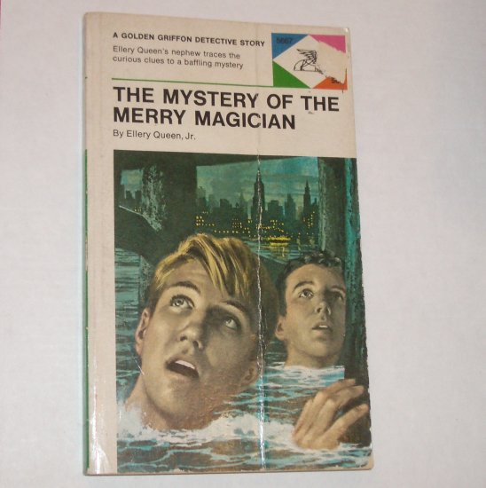 The Mystery of the Merry Magician by ELLERY QUEEN Paperback 1969