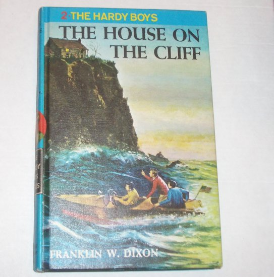 The House on the Cliff by FRANKLIN W DIXON The Hardy Boys No 2 Hardback 1986