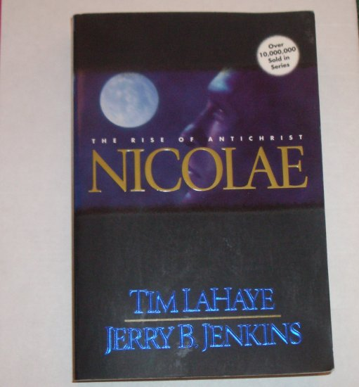 Nicolae The Rise of Antichrist by TIM LaHAYE & JERRY B JENKINS Paperback 1998 Left Behind Series