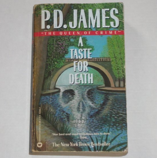 A Taste for Death by P D JAMES Inspector Dalgliesh Murder Mystery Paperback 1987