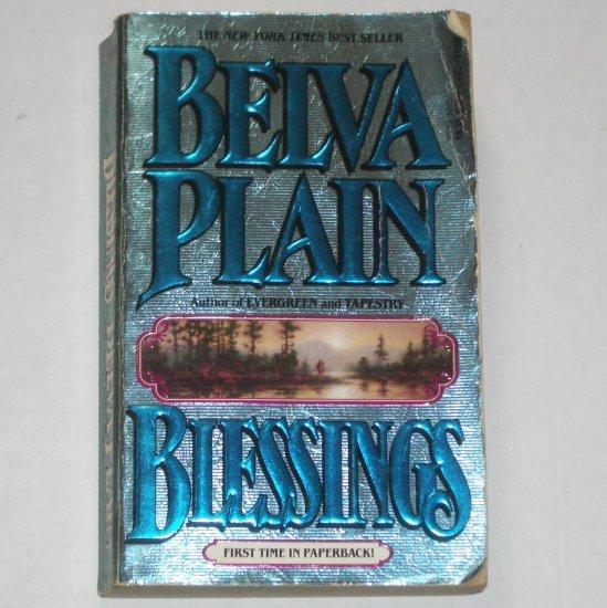 Blessings by BELVA PLAIN Romance and Suspense 1990