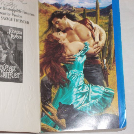 Angel by Johanna Lindsey Historical Romance 1992 Western Series