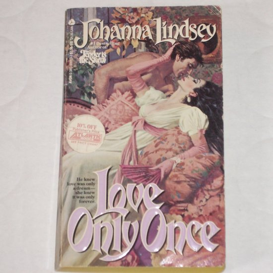 Love Only Once by JOHANNA LINDSEY Historical Regency Romance 1985 Malory Series
