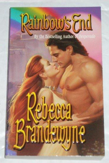 Rainbow's End by REBECCA BRANDEWYNE Historical Western Romance 2000
