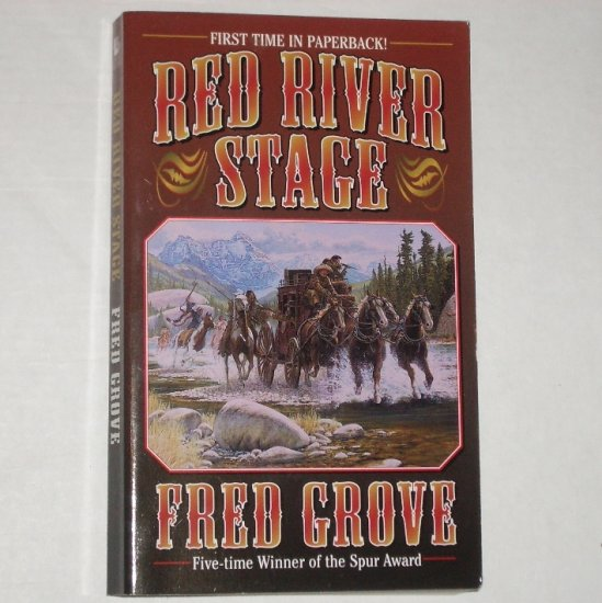 Red River Stage by FRED GROVE Western 2002