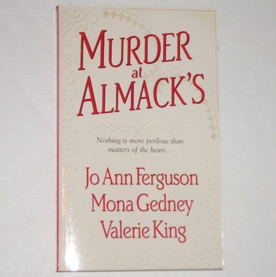 Murder at Almack's by Jo Ann Ferguson, Mona Gedney, Valerie King Regency Anthology