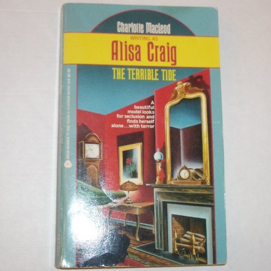 The Terrible Tide by ALISA CRAIG aka CHARLOTTE MacLEOD Cozy Mystery 1987