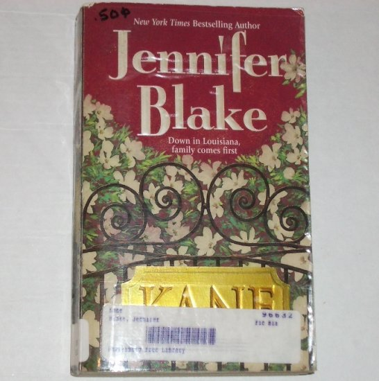 Kane by JENNIFER BLAKE Romance 1998 Louisiana Gentlemen Series