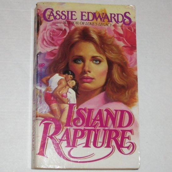 Island Rapture by CASSIE EDWARDS 1985 Contemporary Romance