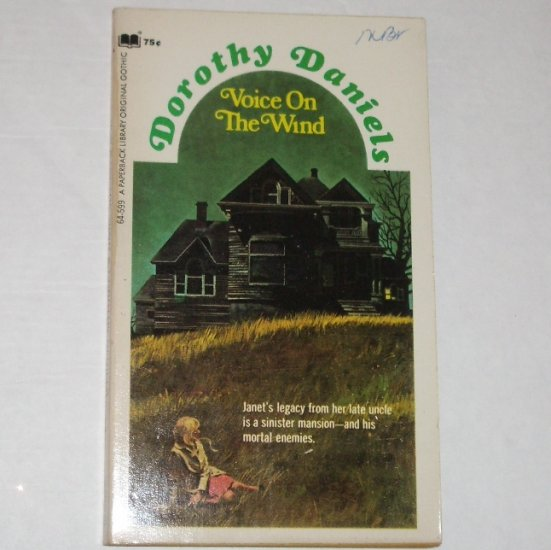 Voice on the Wind by DOROTHY DANIELS Vintage Gothic Romance 1971
