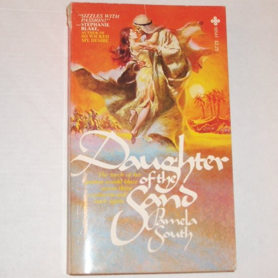 Daughter of the Sand by PAMELA SOUTH Exotic Romance 1979