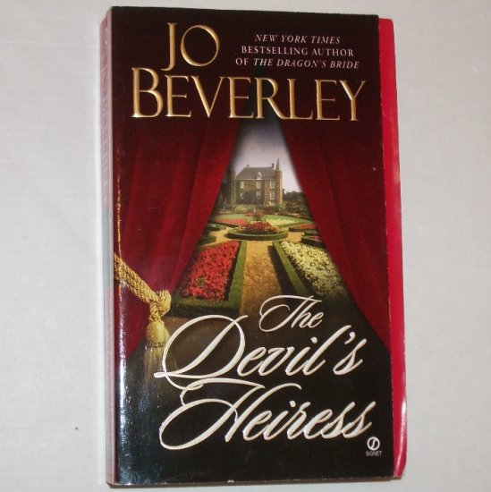 The Devil's Heiress by JO BEVERLEY Historical Romance 2001 Company of Rogues Series