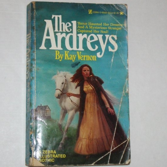 The Ardreys by KAY VERNON Zebra Illustrated Gothic Romance 1979
