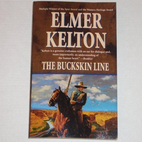 The Buckskin Line by ELMER KELTON Western 2000