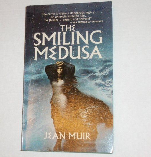 The Smiling Medusa by JEAN MUIR Gothic Romance 1971