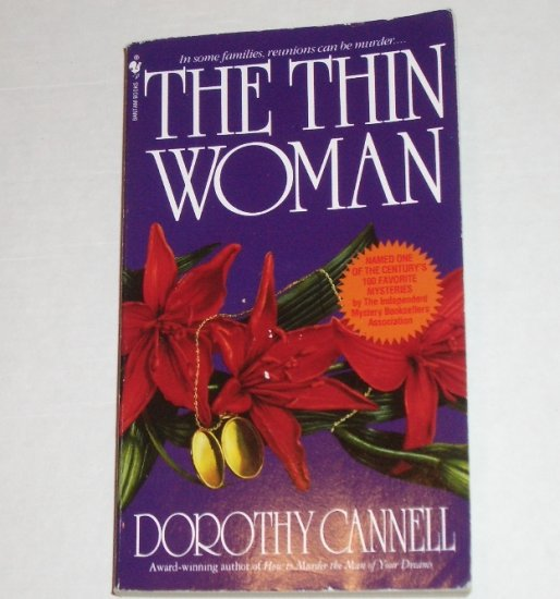 The Thin Woman by DOROTHY CANNELL An Epicurean Murder Mystery 1984