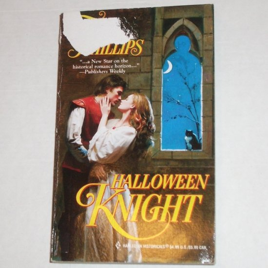 Halloween Knight TORI PHILLIPS Harlequin Historical Medieval Romance Cavendish Chronicles Series