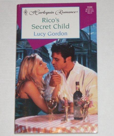 Rico's Secret Child by LUCY GORDON Harlequin Romance 3596 Mar00