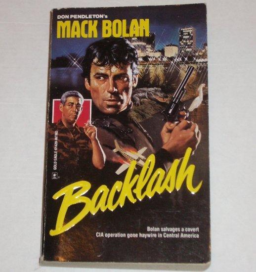 Backlash by DON PENDLETON Mack Bolan 1991