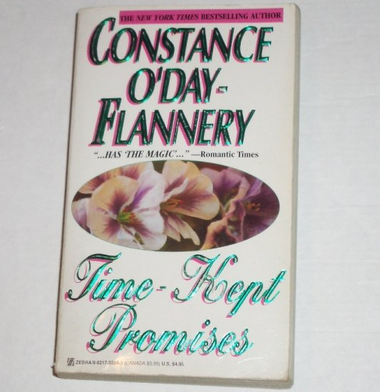 Time-Kept Promises by CONSTANCE O'DAY-FLANNERY Time Travel Romance Paperback 1988