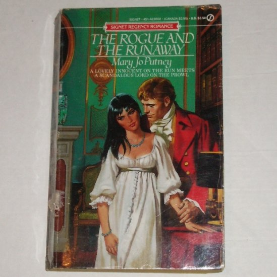 The Rogue and the Runaway by MARY JO PUTNEY Signet Historical Regency Romance 1990