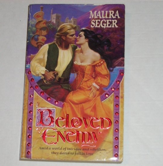 Beloved Enemy by MAURA SEGER Historical Scottish Romance 1992