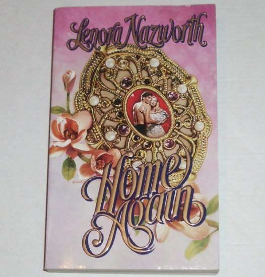 Home Again by LENORA NAZWORTH Love Spell Timeswept Time Travel Civil War Romance 1997