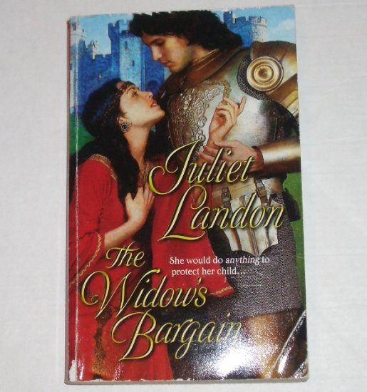 The Widow's Bargain by JULIET LANDON Harlequin Historical Medieval Scottish Romance 2004