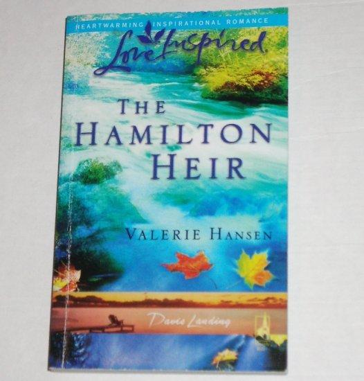 The Hamilton Heir by Valerie Hansen Love Inspired Christian Romance Oct 2006 Davis Landing