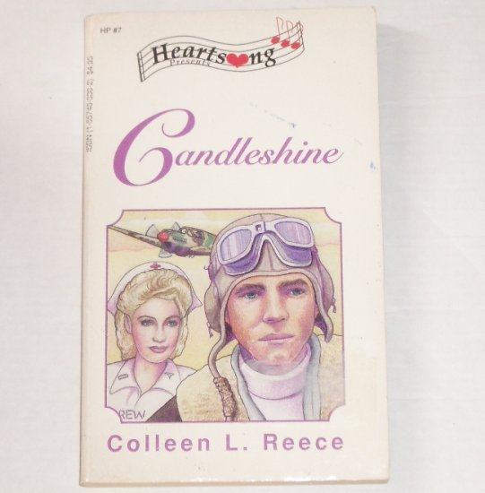 Candleshine by COLLEEN L REECE Heartsong Presents Historical Christian Romance No 7 1992