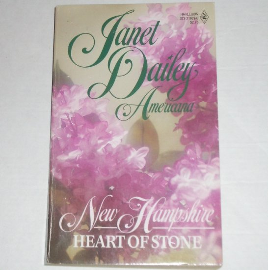 Heart of Stone by Janet Dailey Harlequin Americana No. 29 Collectors Edition 1988 New Hampshire