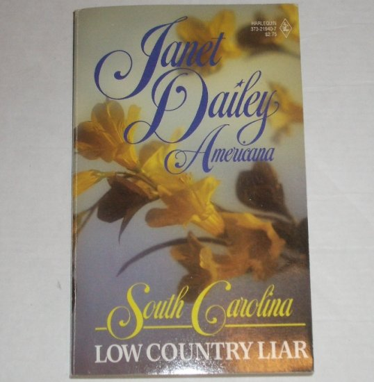 Low Country Liar by Janet Dailey Harlequin Americana No. 40 Collectors Edition 1988 South Carolina