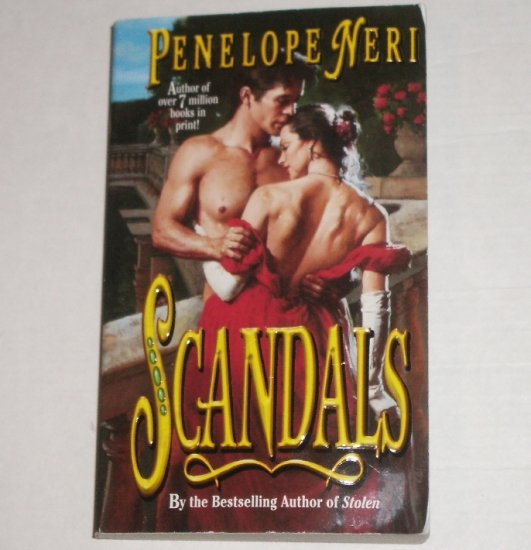 Scandals by PENELOPE NERI Historical Romance 1999