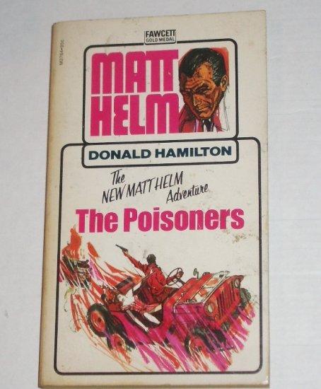 The Poisoners by DONALD HAMILTON A Matt Helm Adventure 1971