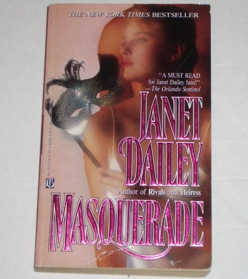 Masquerade by Janet Dailey Romance & Suspense 1990
