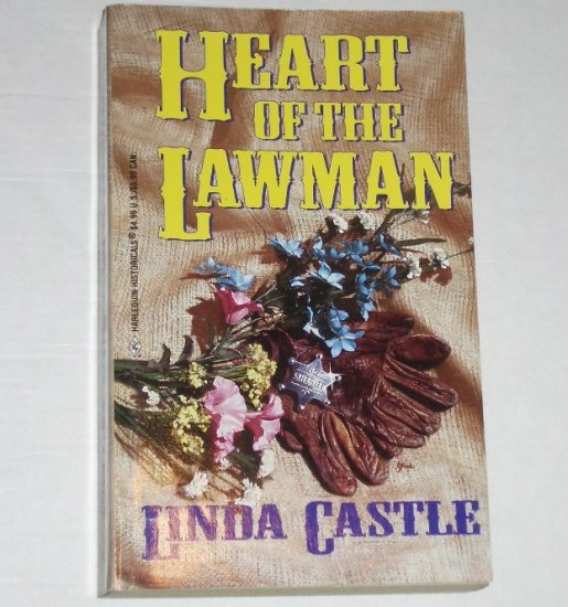 Heart of the Lawman by LINDA CASTLE Harlequin Historical Western Romance 1999
