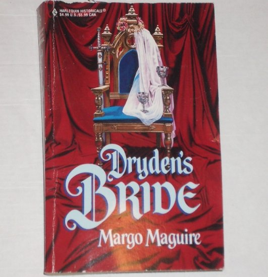 Dryden's Bride by MARGO MAGUIRE Harlequin Historical Medieval Romance 2000