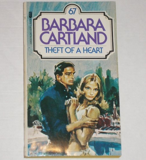 Theft of a Heart by BARBARA CARTLAND Historical Romance 1978