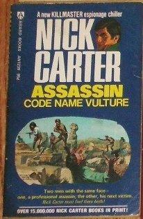 Assassin: Code Name Vulture by NICK CARTER Killmaster Espionage Chiller 1974