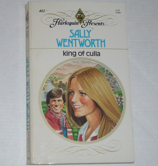 King of Culla by SALLY WENTWORTH Harlequin Presents 462 1981